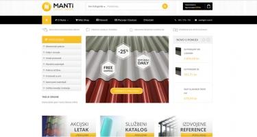 Manti predstavio nove internetske stranice